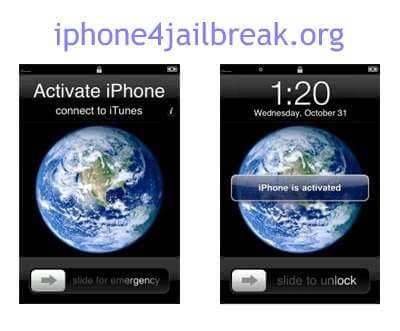 activate iphone 4 3gs 3g