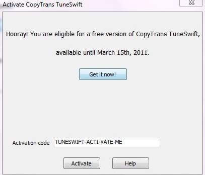 touch copy activation code