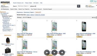 amazon trade in program iphone 4s