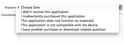 app-store-refund problem