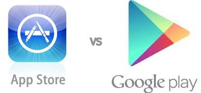 appstore vs google play