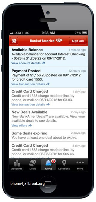 banking apps iphone