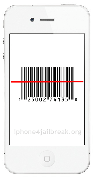 barcode reader iphone 4