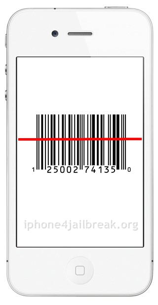 barcode reader iphone 4