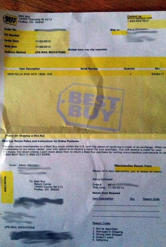 best-buy-free ipad 4 invoice