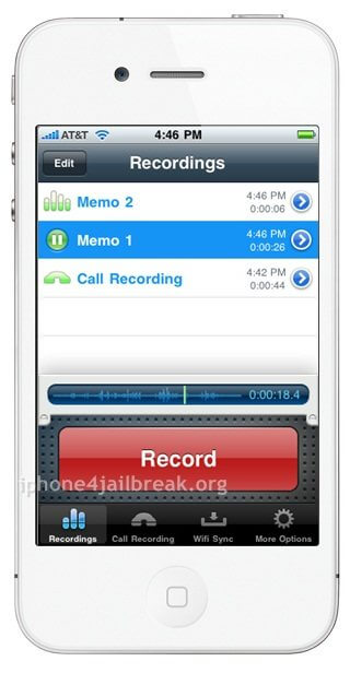 call recorder iphone 4