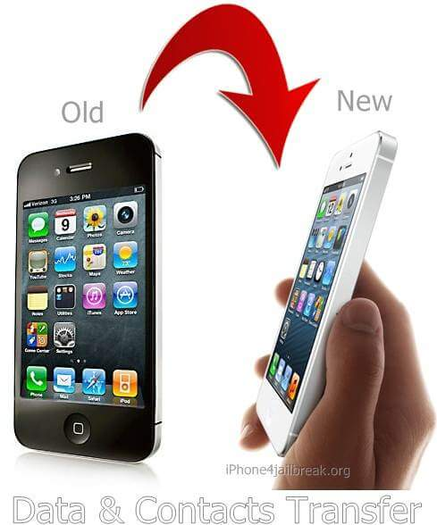 new iphone 4 transfer iphone 4 iphone 4s contacts data to iphone 5 12681