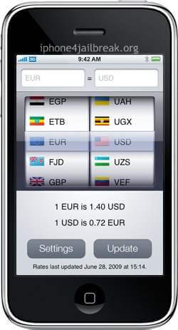 currency converter iphone 4 app