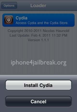 cydia installation verizon iphone 4
