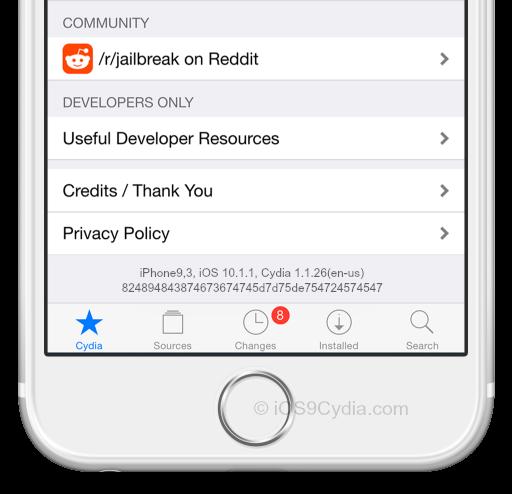 cydia-ios-10-1-1-download