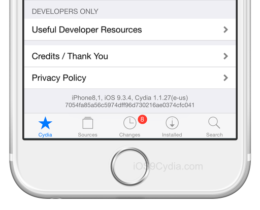 cydia ios 9.3.4 download