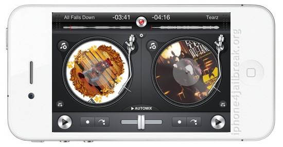 dj app iphone 5