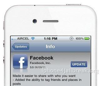 download facebook app iphone 4
