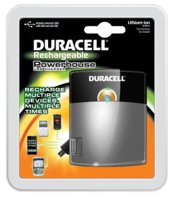 duracell rechargeable