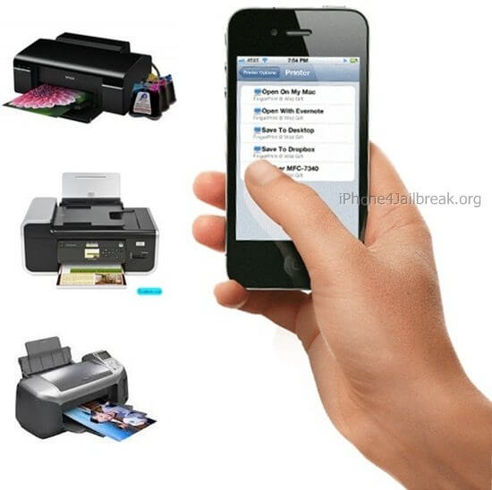 how to print from iphone 4 to epson wireless printer