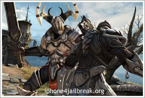 Infinity Blade is the first ever mobile game to bring Epic's cutting edge