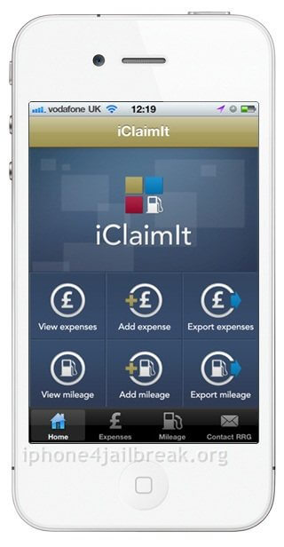 expense tracking apps iphone 5