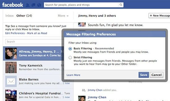 facebook paid messages
