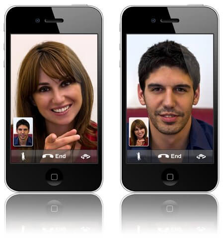 facetime iphone 4