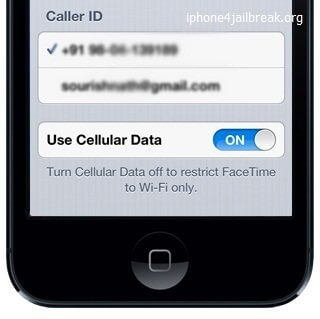facetime over cellular iphone 5