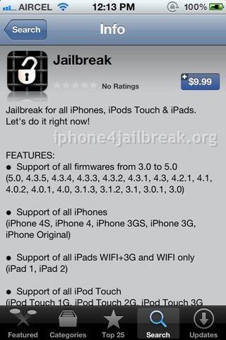 fake jailbreak app