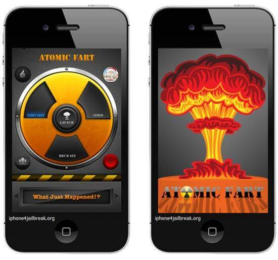 fart apps iphone 5