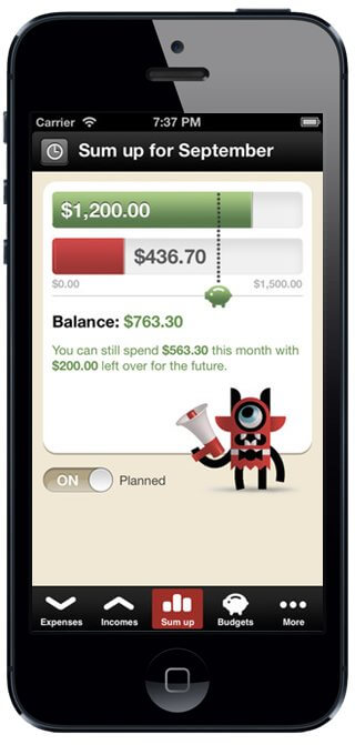 finance apps iphone 5