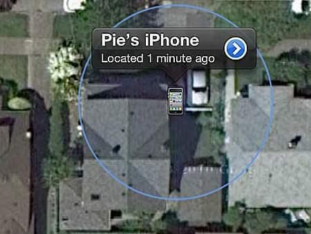 find my iphone 4