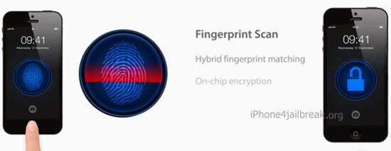 fingerprint security scanner iphone 5