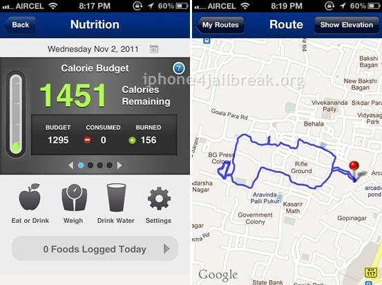 fitness app iphone 4-
