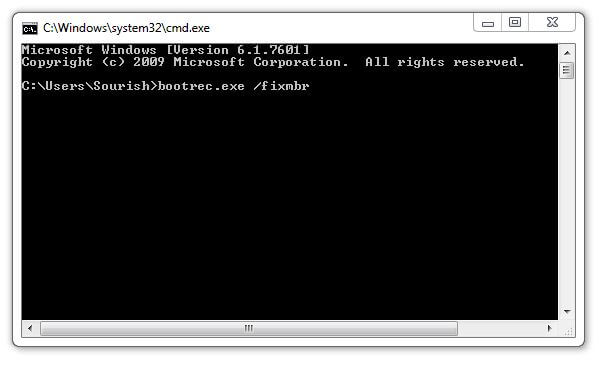 fix mbr windows 8