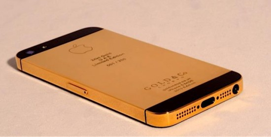 gold case iphone 5