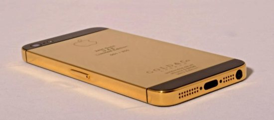 gold case iphone 5 white