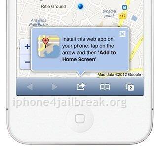 google maps iOS 6 revert old maps