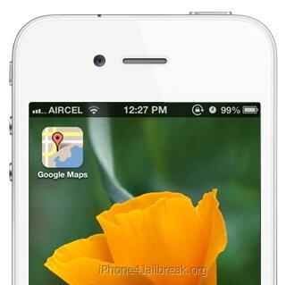 google maps icon iphone 5