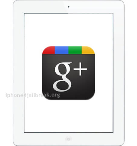google plus ipad 2