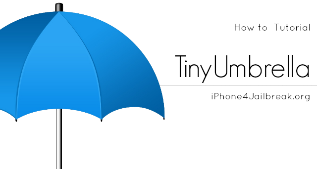 how to use tinyumbrella iPhone 4