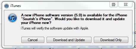 iOS 5 ipsw Download