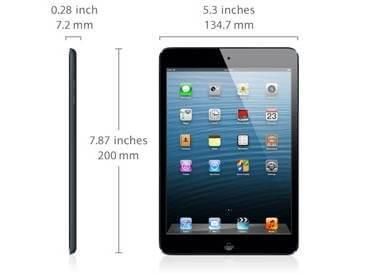 iPad Mini Size Dimensions