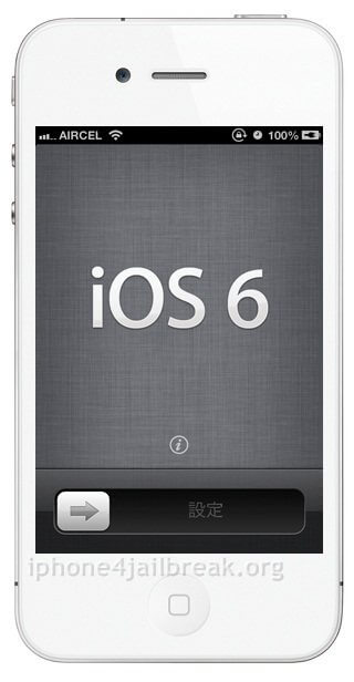 iPhone 4 iOS 6
