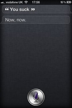 iPhone 4S SIRI Responses