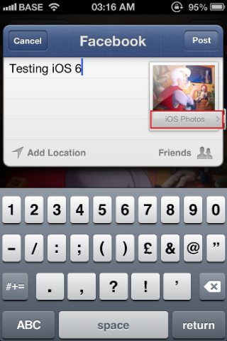 iPhone 5 ios 6 facebook (8)