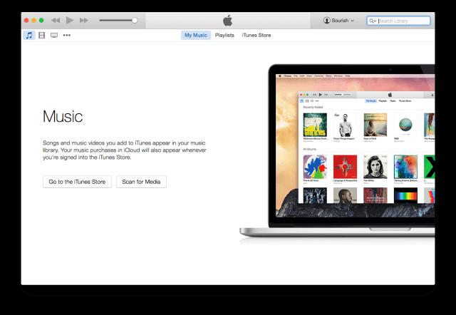 iTunes open iphone 6