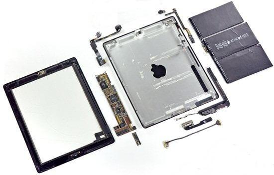 inside ipad 2 teardown iPad 2 parts