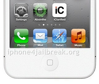 install absinthe on iPhone 4S white
