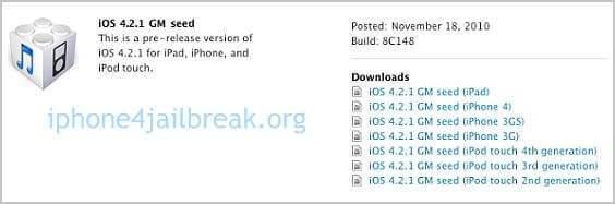 ios 4.2 beta release