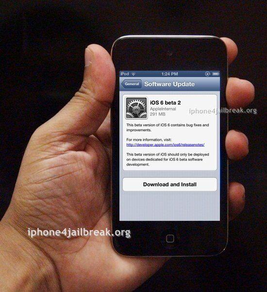 ios 6 beta download iphone 4S