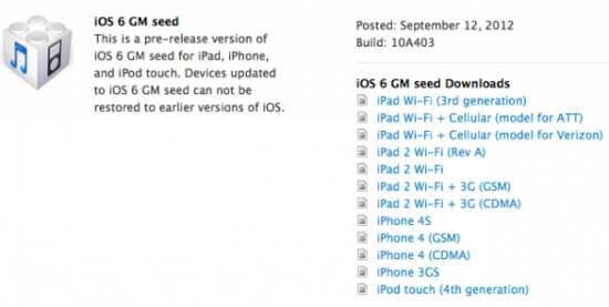 ios-6-ipsw download iphone 5