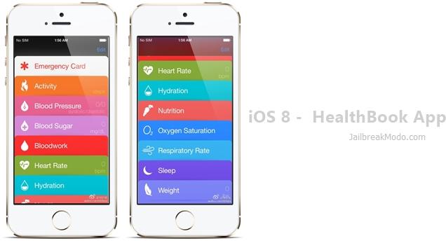 ios 8 healthbook app downloads