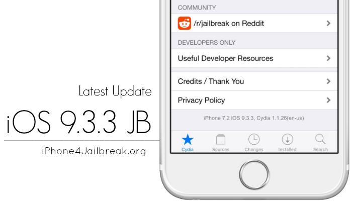 ios 9.3.3 jailbreak iPhone 4